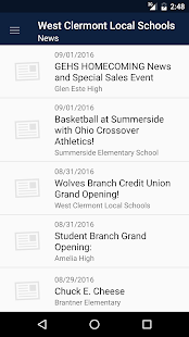 West Clermont Local Schools- screenshot thumbnail