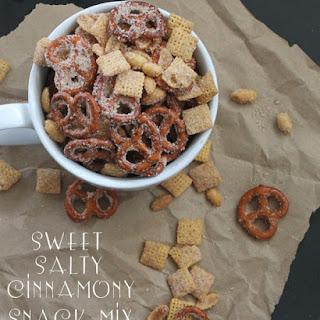 Pretzel Snack Mix Recipes.