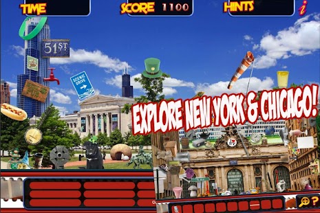 Hidden Object New York City & Chicago Objects Game- screenshot thumbnail