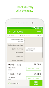 FlixBus - bus travel in Europe- screenshot thumbnail