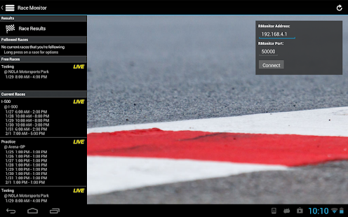 Race Monitor Screenshot