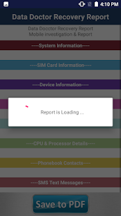 Mobile Investigation Forensics Report Maker PRO - náhled
