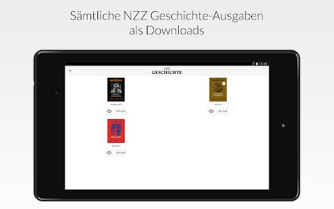 NZZ Geschichte screenshot 4