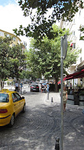 Photo: walking to meet Emre in Sisli