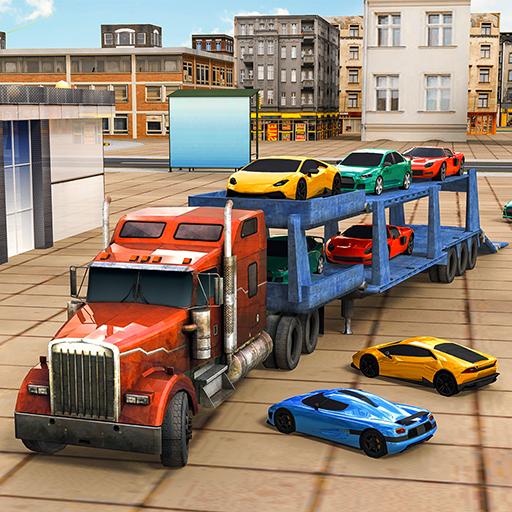 Car Transporter game 3D