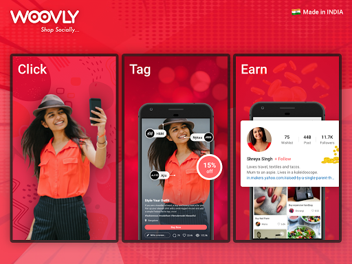 Woovly: Online Social Shopping App for India?? screenshot 7