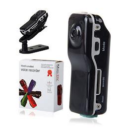 Mini camera spion Voice Recorder - suporta card 16 GB