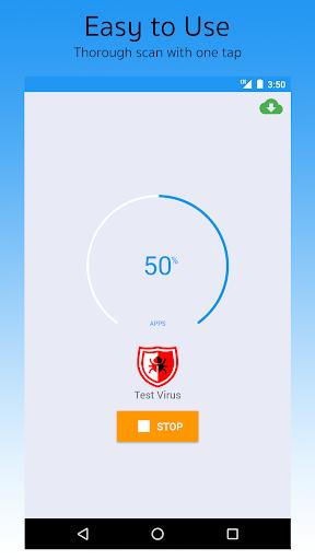 Antivirus Android screenshot 1