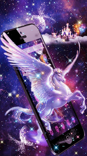 Unicorn Purple Dreamy Theme for PC