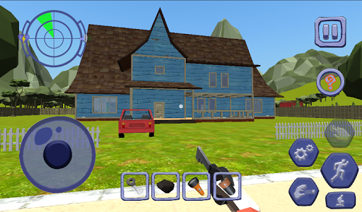 Scary Clown Sponge Vader Neighbor. Escape apkdebit screenshots 17