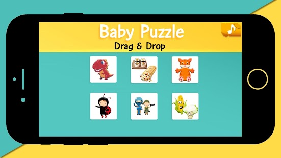 Tải Game Baby Puzzle Drag & Drop