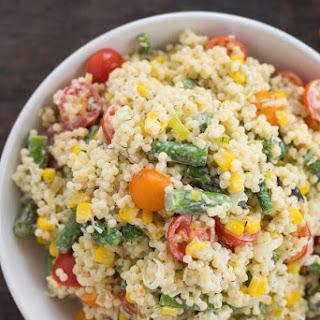 Summer Vegetable Pepe Pasta Salad.