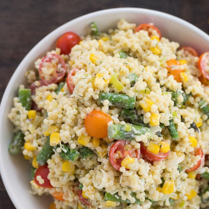 Summer Vegetable Pepe Pasta Salad Recipe