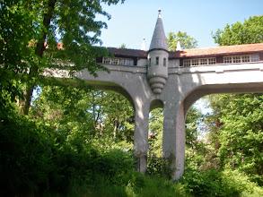 Photo: Kryty most w Lądku