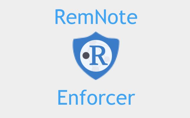 RemNote Enforcer