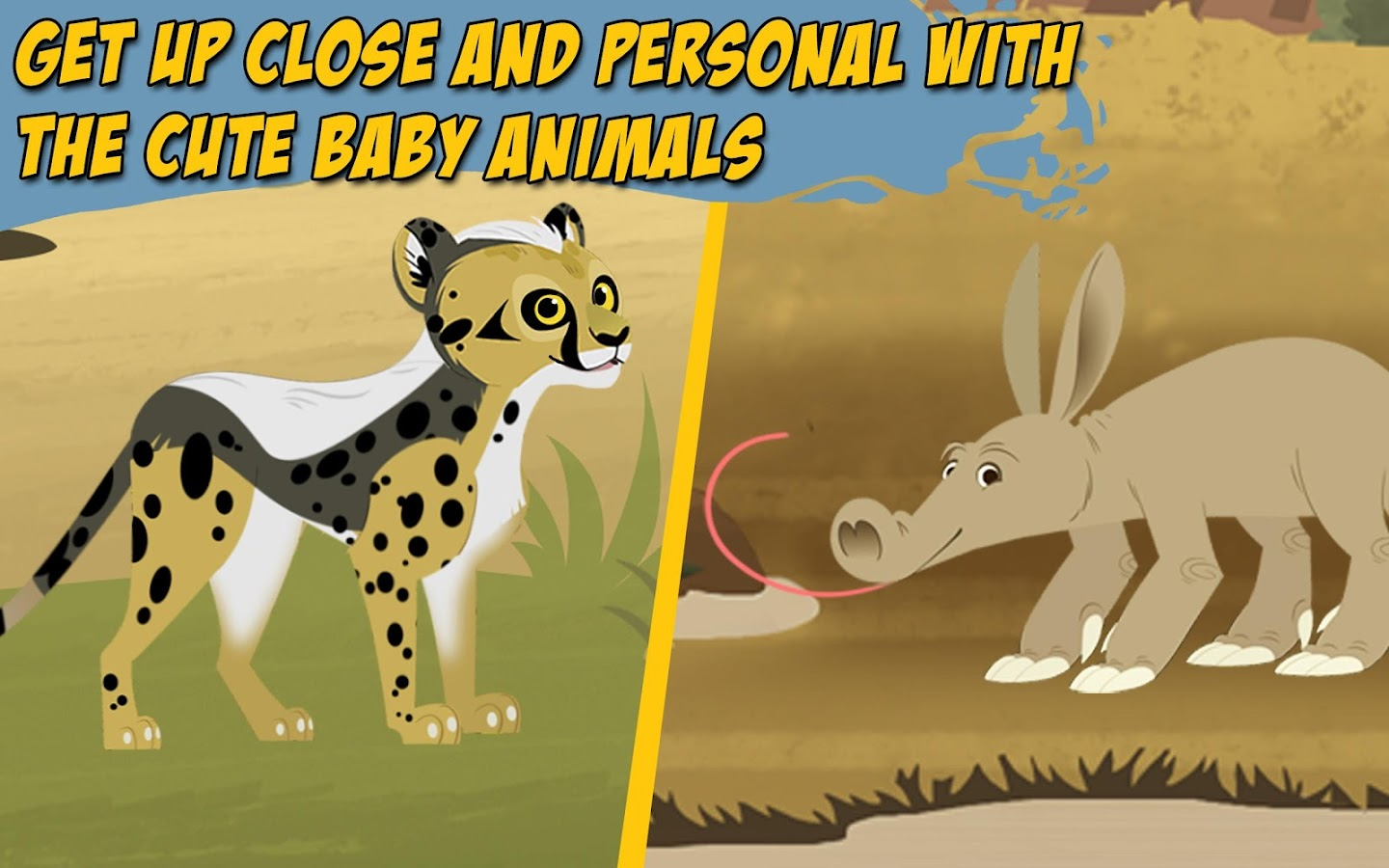 Wild Kratts Baby Buddies- screenshot