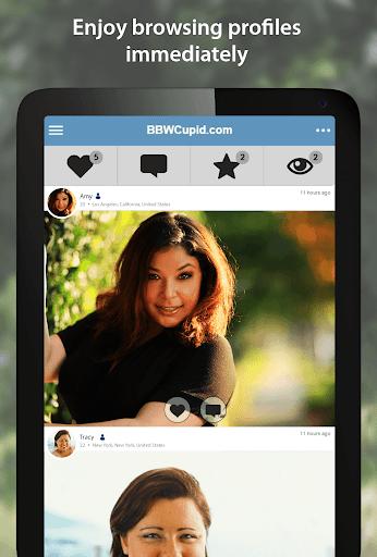 BBWCupid - BBW Dating App 3.1.7.2496 screenshots 6