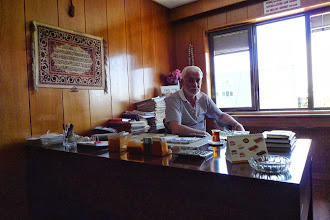 Photo: Huseyn Taysun, former chief of Kürt-Kav, Istanbul 2012