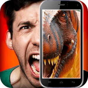 Dinosaur in the face simulator for PC and MAC