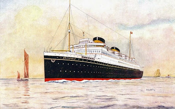 Photo: BRITANNIC (CUNARD WHITE STAR LINE)
