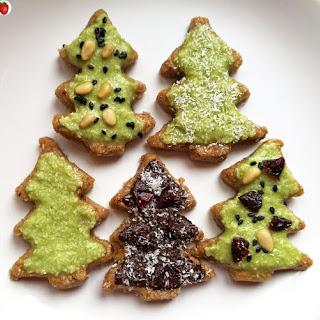 No-Bake Christmas Tree Cookies.