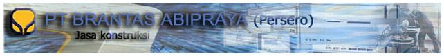 Lowongan STAF LEGAL PT Brantas Abipraya, Lowongan kerja PT.Brantas Abipraya