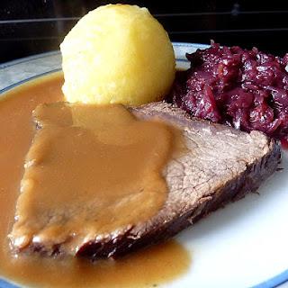 Ingredients German Beef Roast