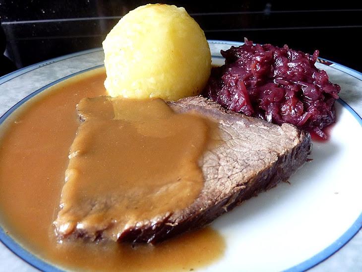 Ingredients German Beef Roast Recipe