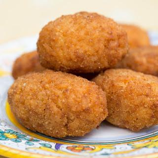 Supplì (Roman Rice Croquettes).