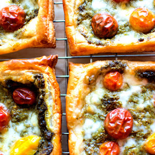 Caprese Tart with Heirloom Tomatoes