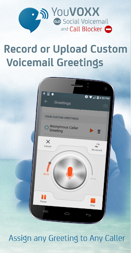 YouVOXX Voicemail, Call Blocker screenshot 6