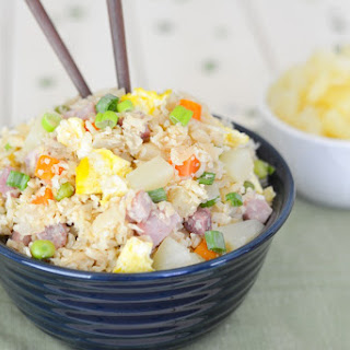 Hawaiian Cauliflower Fried Rice