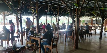 Photo: Casa del Suiza open-air dining