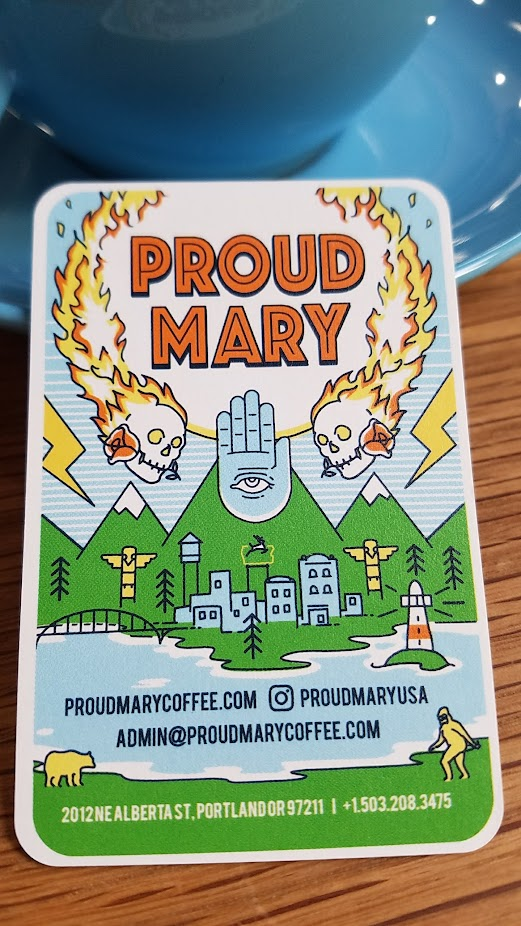 Proud Mary's Business Card