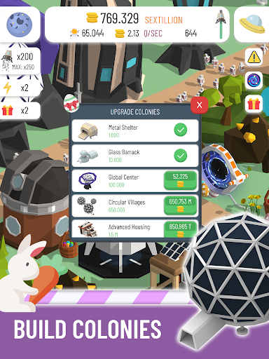 Space Colony: Idle 2.6.2 screenshots 11