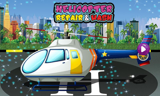Helicopter Repair & Wash Game 1.0 4