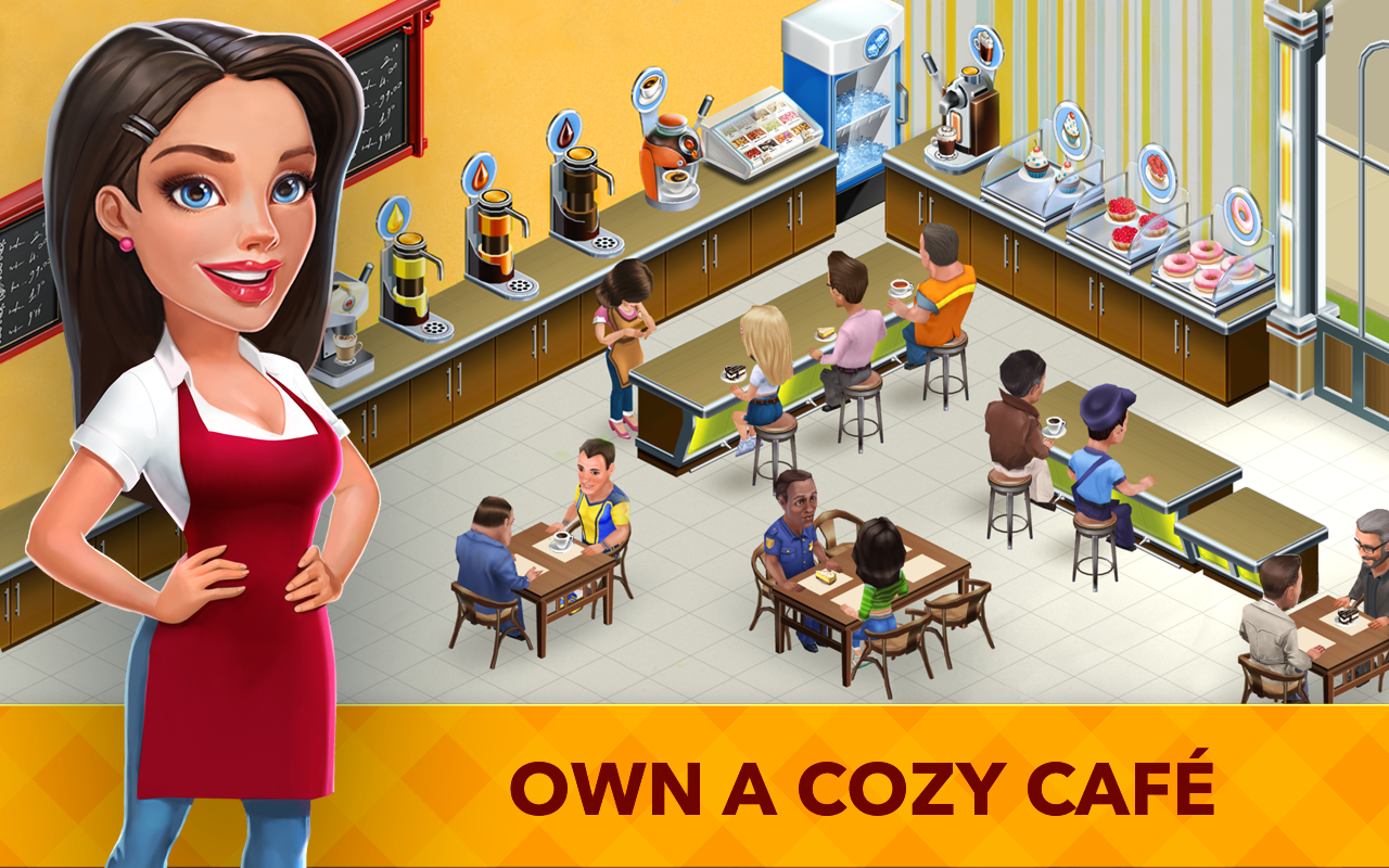 My Cafe Recipes Stories World Cooking Game Android Apps On Google Play