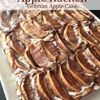 Apple Kuchen (German Apple Cake).