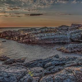 by Venelin Dimitrov - Landscapes Sunsets & Sunrises ( sky, stone, horizon )