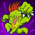 Jumping Croc Jellyfish Attack icon
