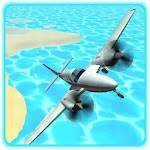Flight Sim Airplane Pilot Instructor Icon