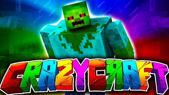 Crazy Craft Mods for MCPE - Minecraft PE - náhled