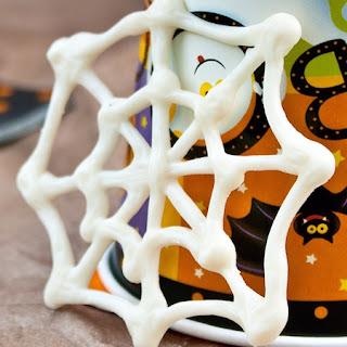 Spider Web Pumpkin Cupcakes