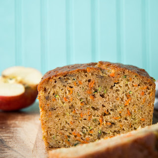 Zucchini Carrot Apple Bread