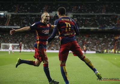 Iniesta se prononce en faveur d'un retour de Neymar au Barca