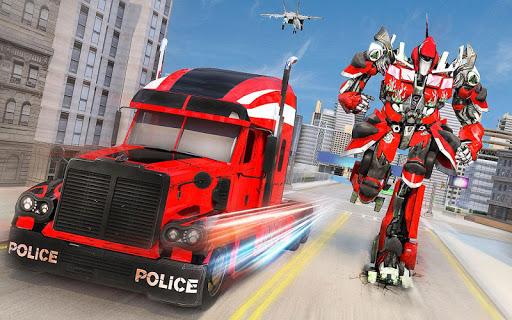 Indian Police Robot Transform Truck 1.13 Screenshots 9