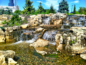 Photo: Acorn Ponds & Waterfalls, we install #Ponds, water features and low maintenance water gardens. Renovation and maintenance are our specialties. Check out our website www.acornponds.com and give us a call 585.442.6373.   These Spectacular #Waterfalls were Installed at The Shedd Aquarium a year earlier by Certified Aquascape Contractors and Aquascape Designs.  To learn more about Waterfalls please click here: www.acornponds.com/pondless-waterfalls.html  Interested in a Waterfalls without the pond? Please click here: www.acornponds.com/pondless-waterfalls.html  Find us on Houzz here: www.houzz.com/pro/acornlandscapedesign/acorn-landscaping-and-ponds-llc  Check out our photo albums on Pinterest here: www.pinterest.com/acornlandscape/  Click here for a free Magazine all about Ponds and Water Features: http://flip.it/gsrNN  Interested in a Waterfalls without the pond? Please click here: www.acornponds.com/pondless-waterfalls.html  Acorn Ponds & Waterfalls   585.442.6373 www.acornponds.com