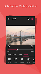 Video Editor - HD : all in one Screenshot