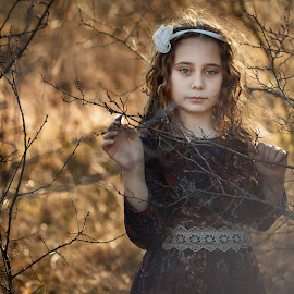 Pamela by Теди Димитрова - Babies & Children Child Portraits ( outdoor, beautiful, children, portrait, girl )