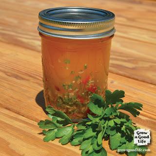 Mason Jar Italian Salad Dressing